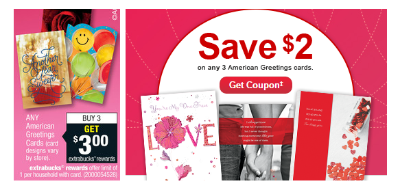 Hot cvs as low as three free american greetings card or 032 again you can score three free american greetings cards when you buy the ones that are just 99 each youll pay 297 out of pocket m4hsunfo