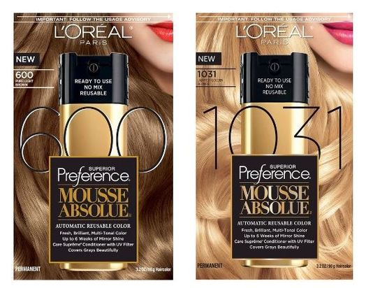 HOT* target: L'Oreal Paris Superior Preference Mousse Absolue Hair ...