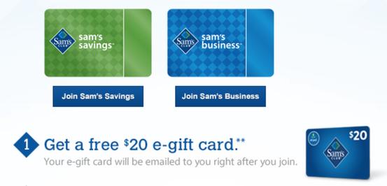 Hot Sam S Club Savings Or Business Membership Only 45 Free