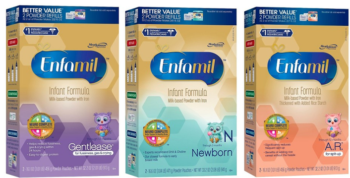 new 52 enfamil large size powders printable coupon as low as 2949 enfamil infant formula refill packs reg 3699 after gift card promotion dapper