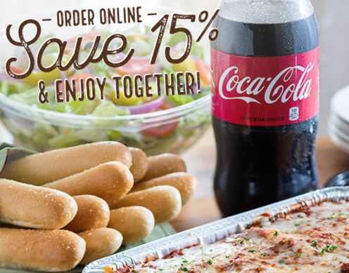 olive garden buy one take one promo 15 off online orders only 1104 for two entrees soupsalad and breadsticks dapper deals - Olive Garden Online Ordering