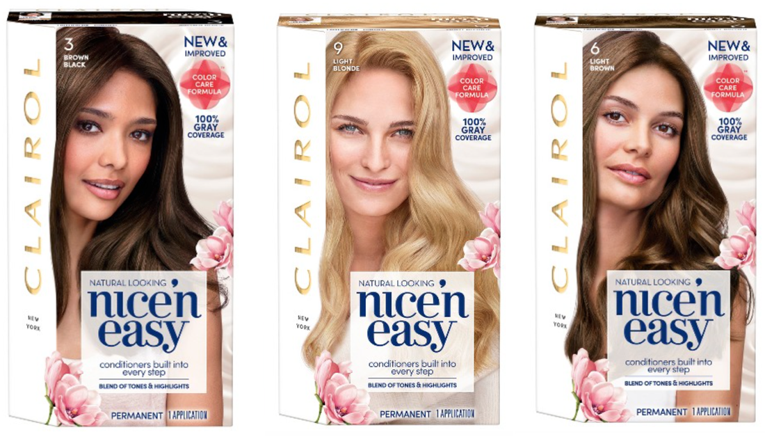 HOT* FREE Clairol Nice \'n Easy Hair Color Sample - Request NOW ...