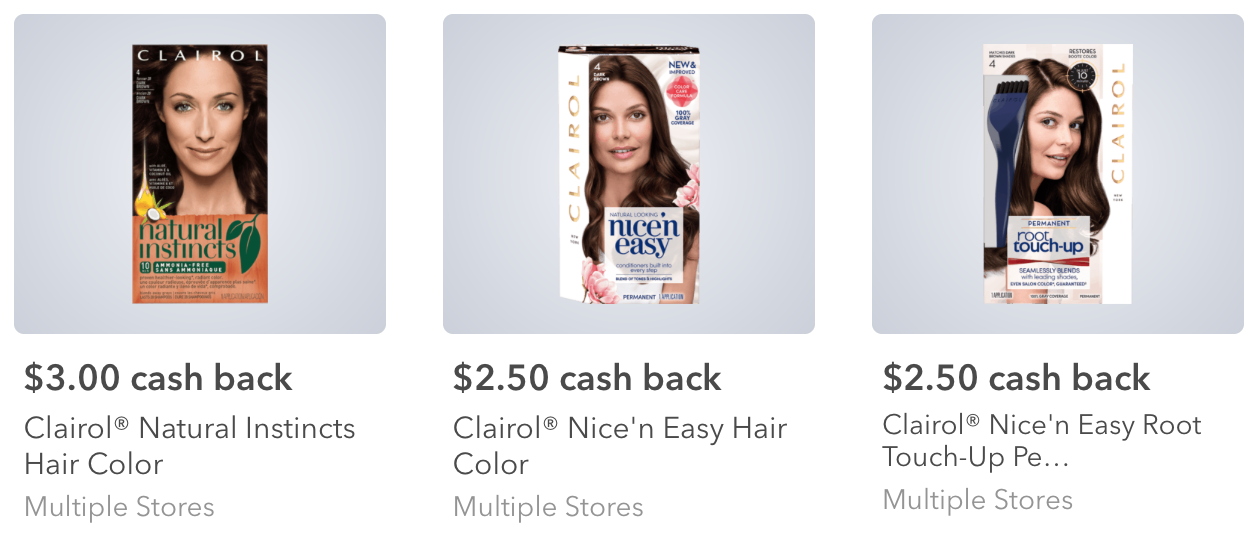 Hot Target Better Than Free Clairol Hair Color After Ibotta