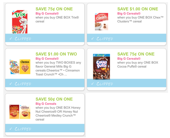 New Big G Cereals Printable Coupons Print Them Out Now And Get Ready For Tomorrow S Target Gift Card Promo Dapper Deals