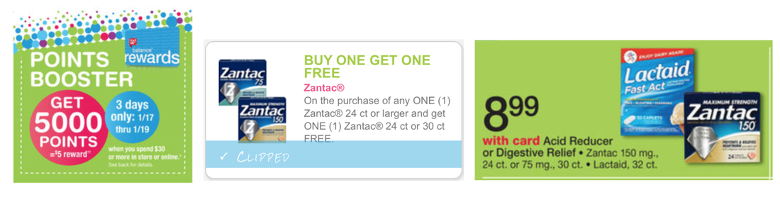 picture regarding Zantac Printable Coupon called Scorching* Walgreens: Zantac 150 Mg 24 ct. or 75 MG 30 ct. basically