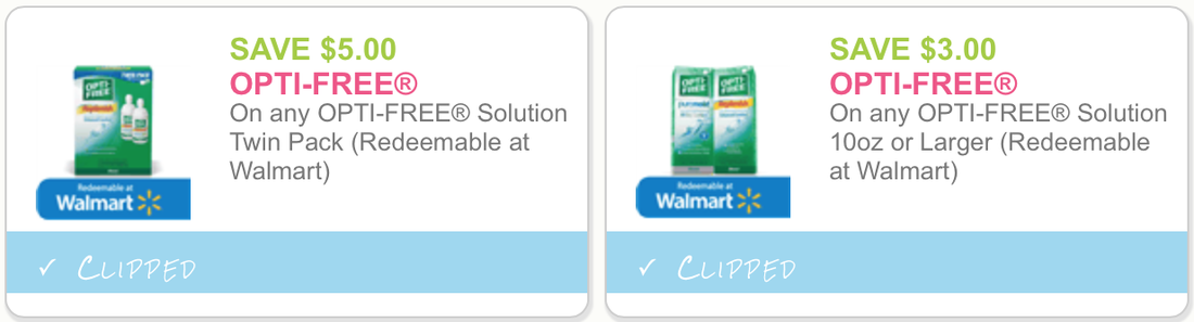 Two New Opti Free Solution Printable Coupons Nice Deals At Target With Gift Card Promotion Thru Tomorrow Only Dapper Deals