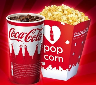 HOT* FREE Medium Popcorn at Cinemark Theaters on Friday, September