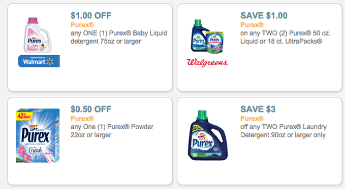 photograph regarding Purex Coupons Printable named 4* Fresh new Purex Printable Model Coupon codes - Dapper Specials
