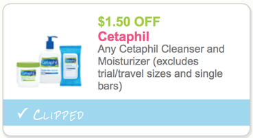 graphic relating to Cetaphil Coupon Printable identify Fresh new $1.50/1 Cetaphil Cleanser and Moisturizer Printable