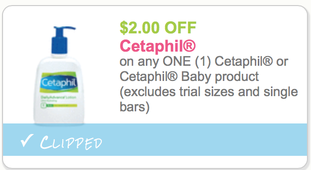 graphic regarding Cetaphil Coupon Printable referred to as Fresh new $2/1 Cetaphil or Cetaphil Kid Materials Printable Coupon