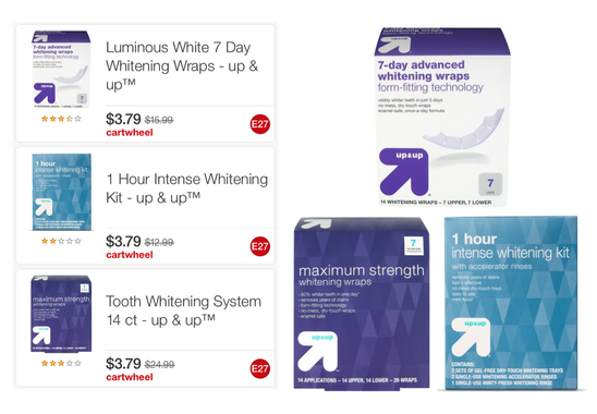 Hot Target Up Up Whitening Systems Kits Only 3 79