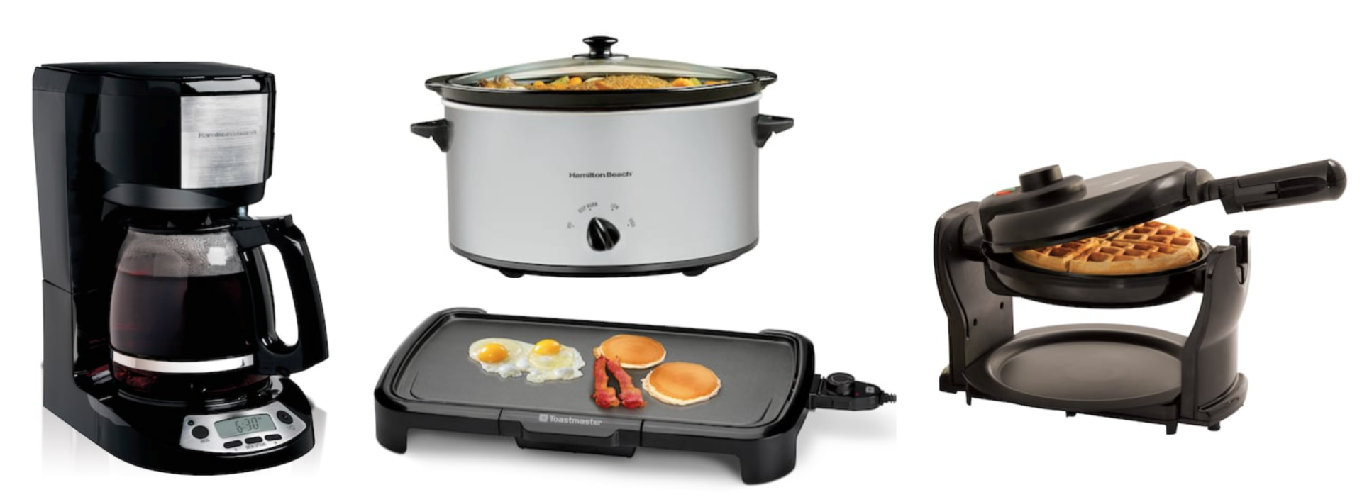 Kohls Three Small Kitchen Appliances