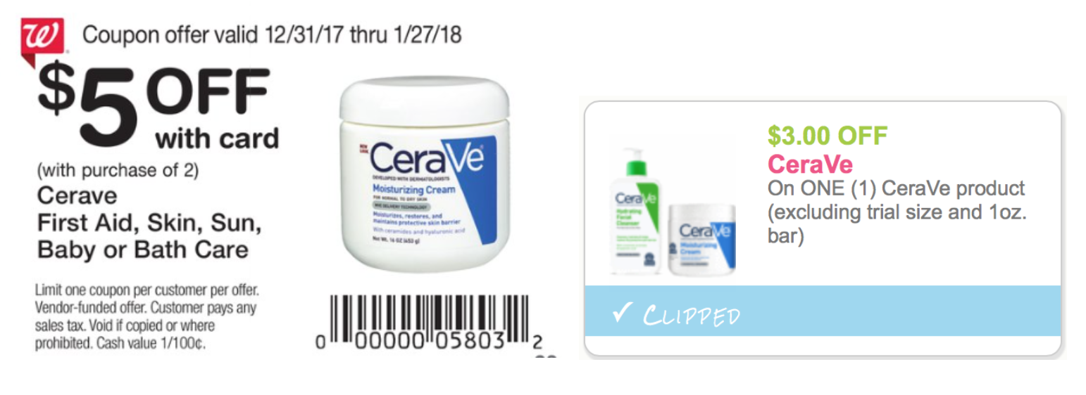 image about Cerave Coupons Printable known as Group: Unique Treatment - Dapper Bargains