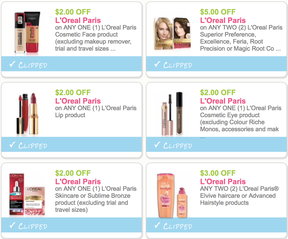Tons Of Savings On L Oreal Paris Beauty And Personal Care Coupons Save 16 Just By Printing These Coupons Dapper Deals